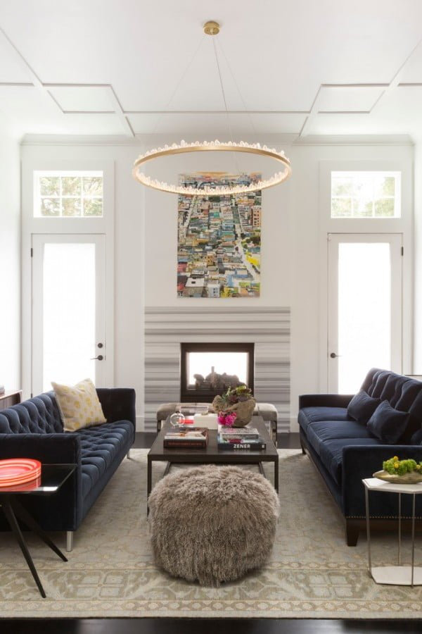 Tiburon Modern Living Room