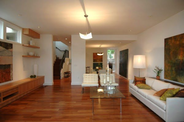 Warm Modern in Noe Valley-Living Room