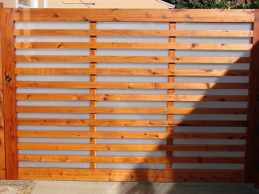 wood and fiberglass