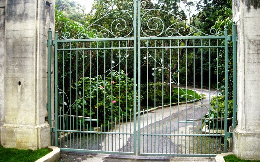 metal decorative gate