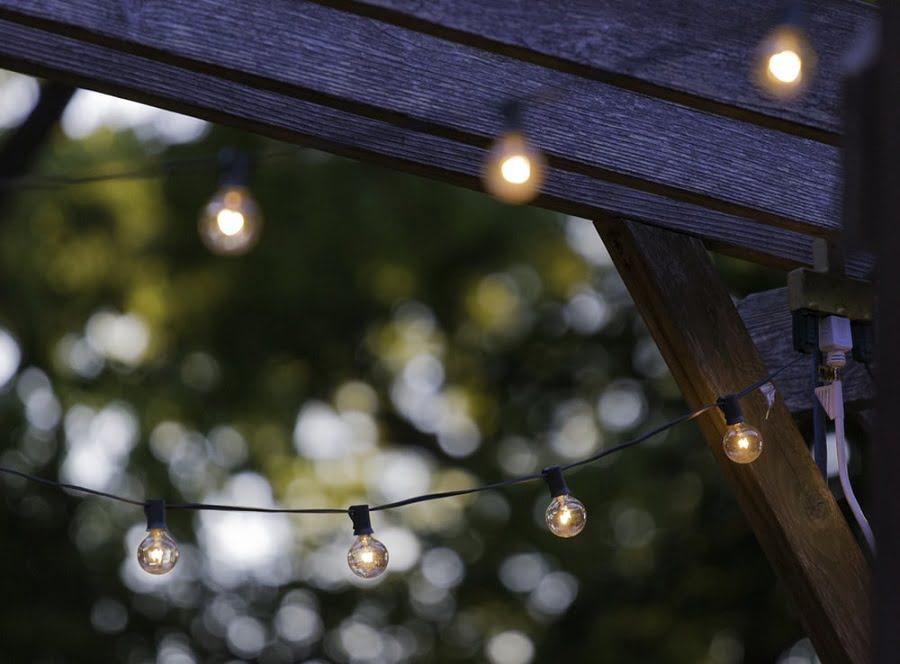 backyard lighting
