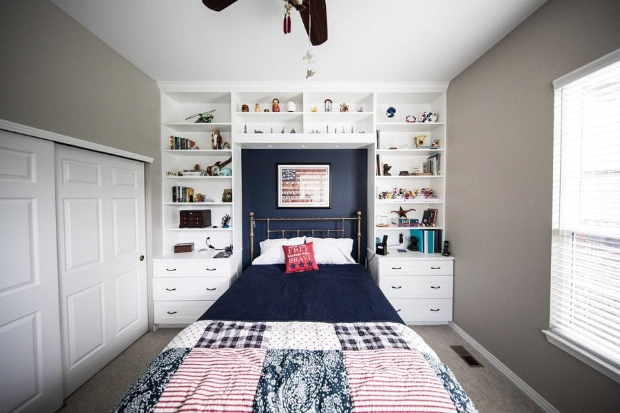 20 Smart Bedroom Organization Ideas