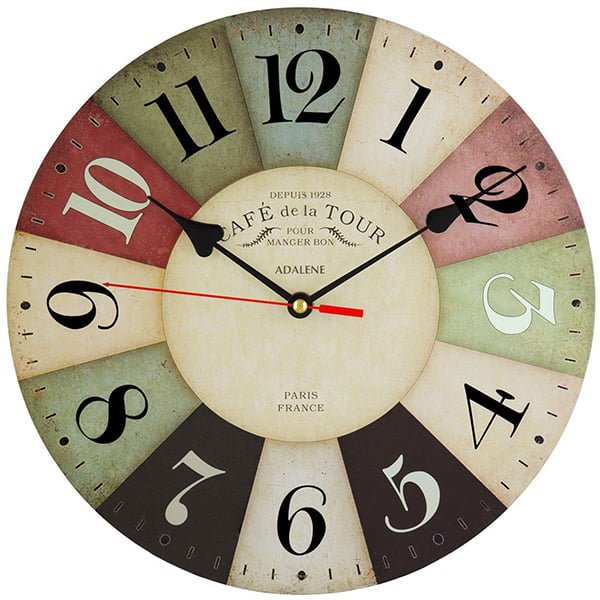 Adalene Kitchen Wall Clock