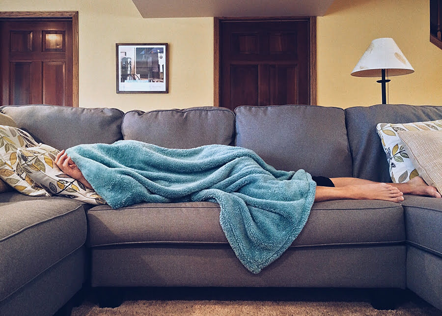 DIY Weighted Throw Blanket