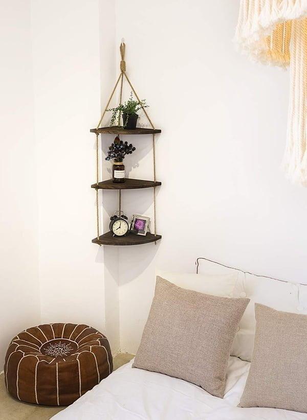 Hanging Corner Shelf