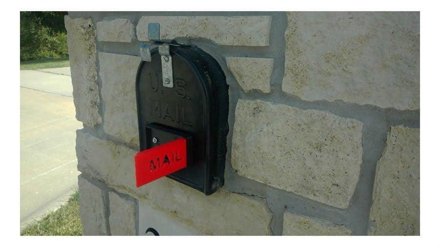 Stone Mailbox Kit