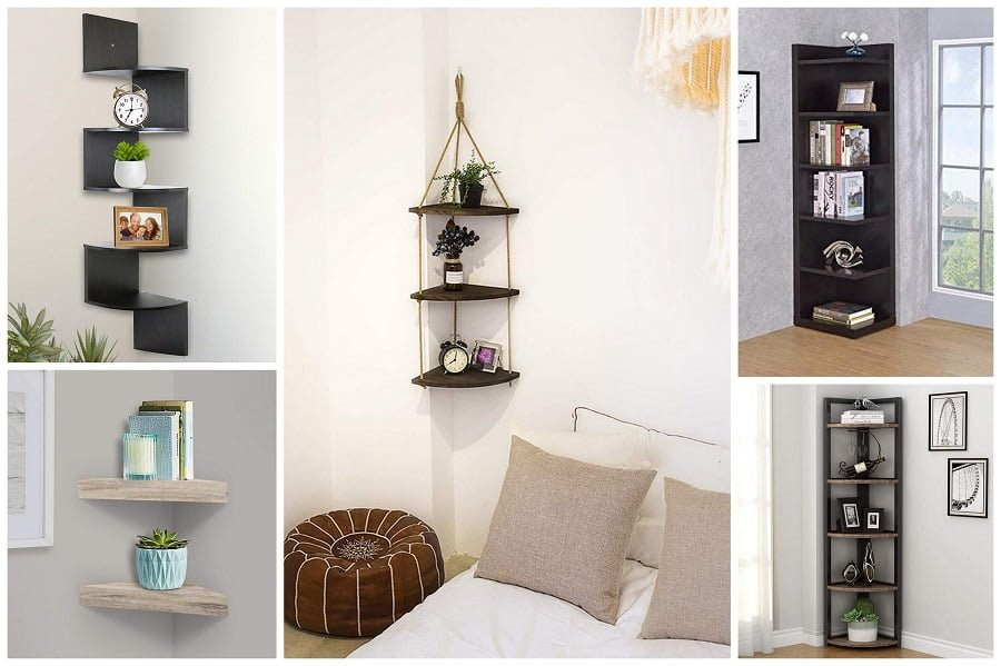 best corner shelves