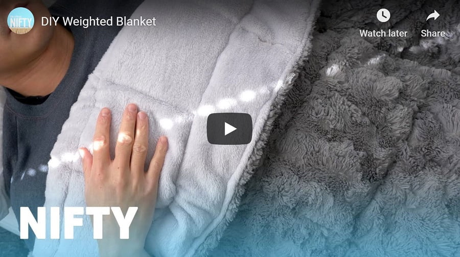 25 pound blanket video