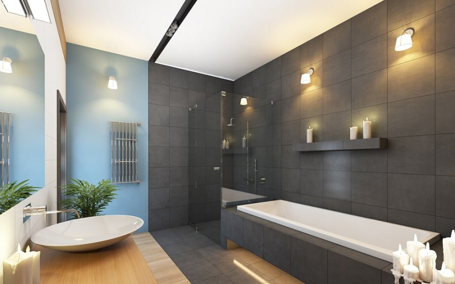 11 Best Grey Bathroom Ideas to Inject Liveliness