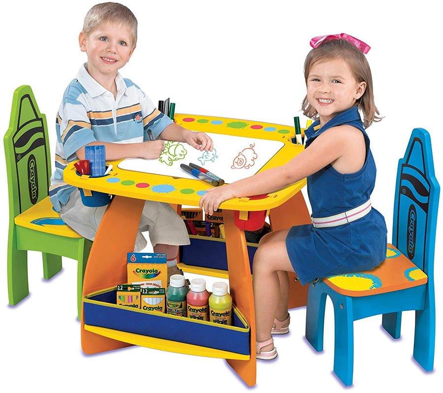 Kids Art Table