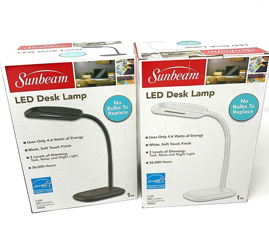 Sunbeam Led Desk Lamp
