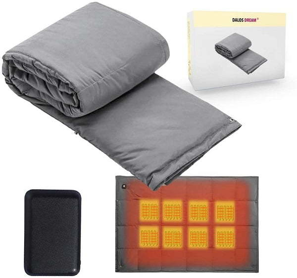battery operated heated blanket
