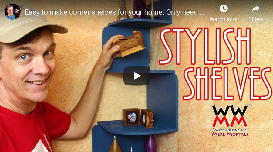 diy shelves tutorial video