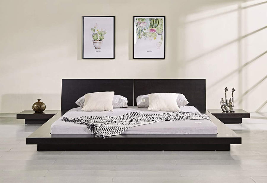 Japanese style bed
