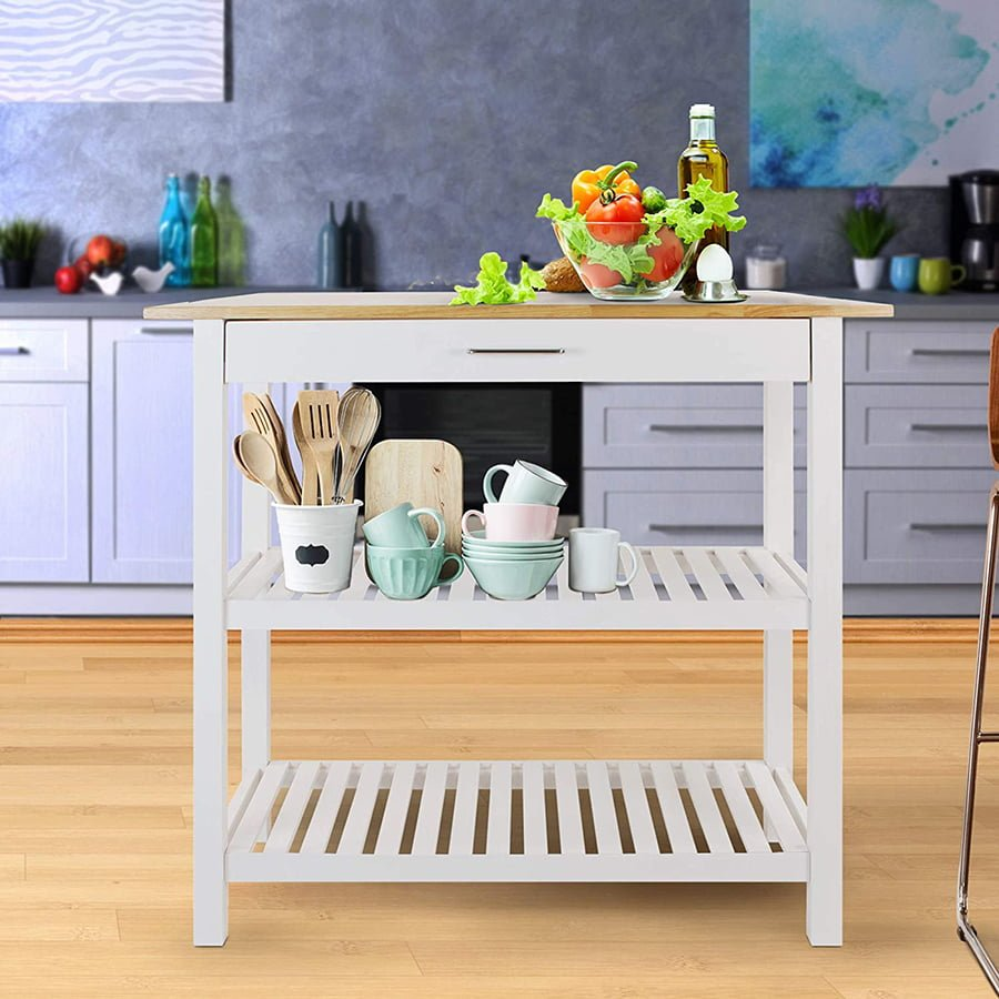 best kitchen island for small spaces
