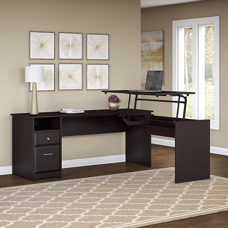 L Shaped Standing Desk
