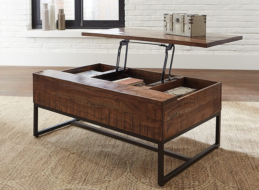 Rectangle Lift Top Coffee Table