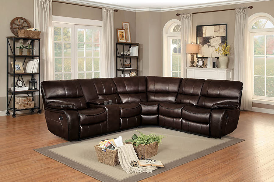 Sectional With Recliner
