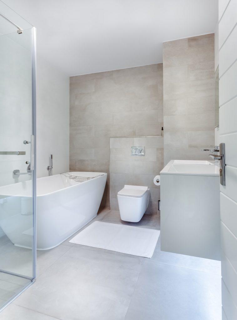 limestone bathroom tile