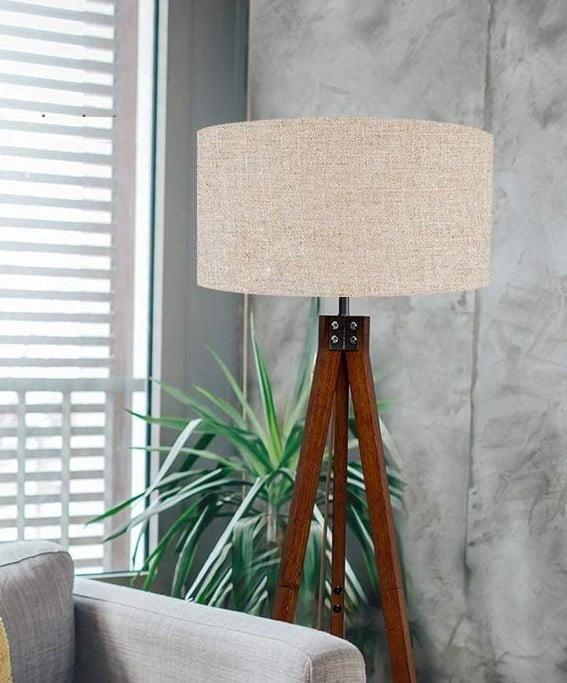 mid-century modern living room lamp