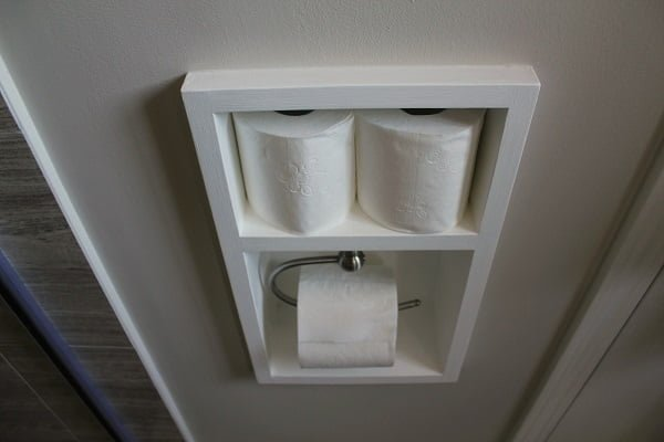 in wall holder