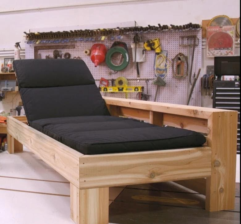 diy chaise lounge
