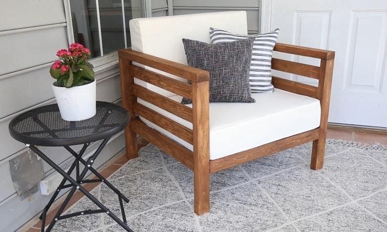 diy outdoor chair