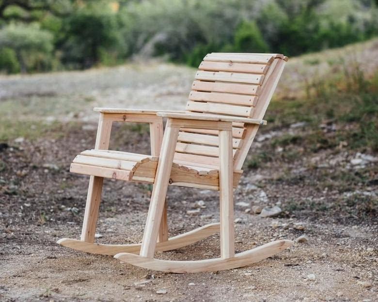 diy outdoor rocking chair