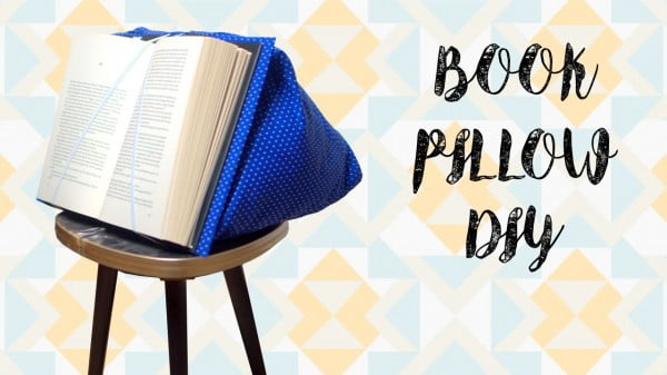 DIY Book Pillow