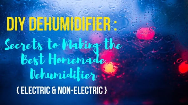 DIY Dehumidifier