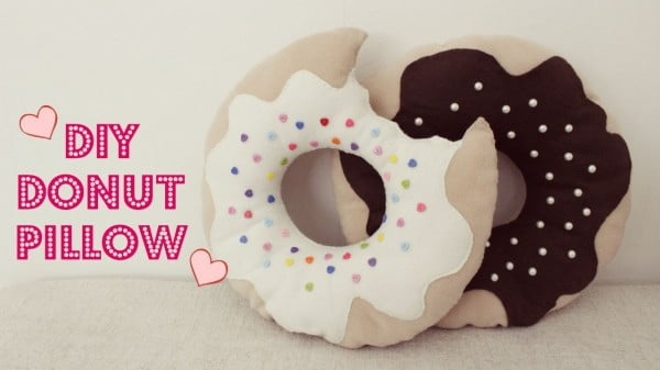 DIY Donut Pillow