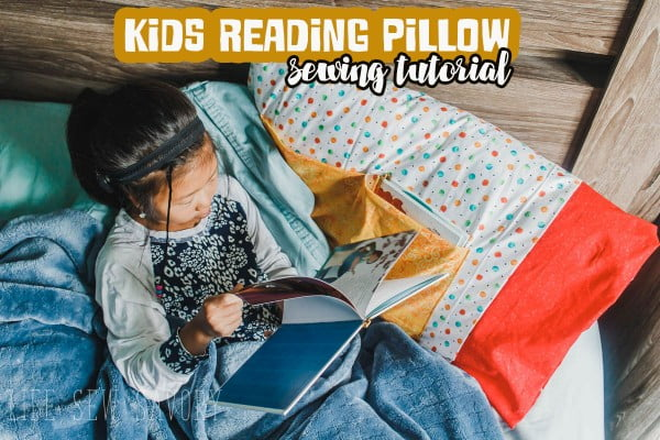 DIY Kids Reading Pillow