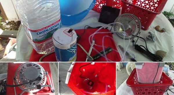 DIY Project: Off Grid Air Conditioner And Dehumidifier