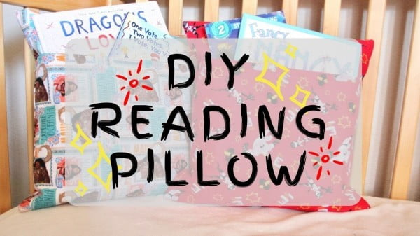 DIY Reading Pillow