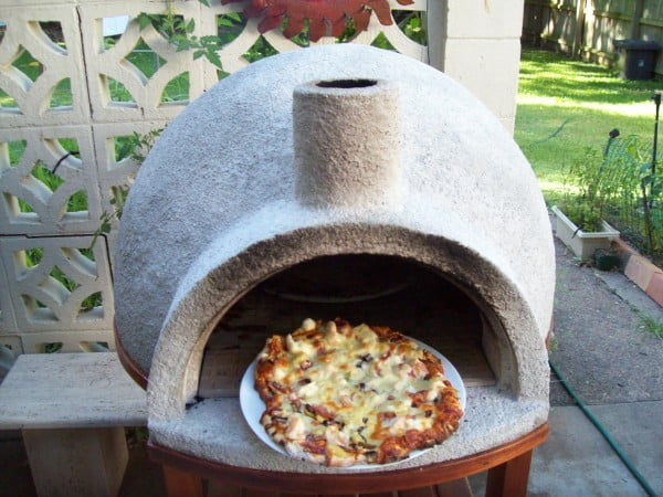 DIY Video: How to Build a Backyard Wood Fire Pizza Oven Under $100