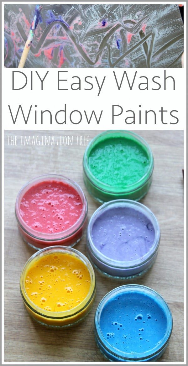 DIY Window Paint Recipe