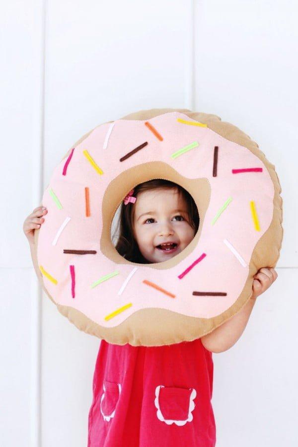 Donut DIY Pillow Pattern