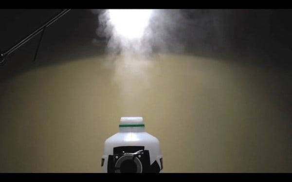 Homemade Humidifier DIY Using Ultrasonic Mist Maker