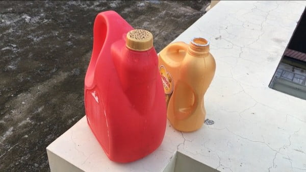 Homemade Watering Can for Plants