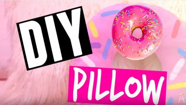 How To Make A No-Sew Donut Pillow – Pepe's How Tos