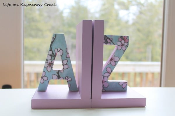 How to Make Easy DIY Bookends
