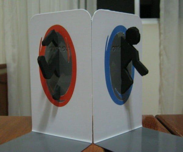 Portal Bookends