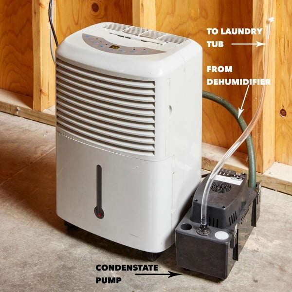 Save Time and Money With a DIY Self-Draining Dehumidifier