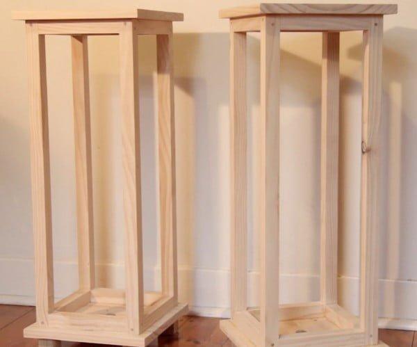 Timber Speaker Stands