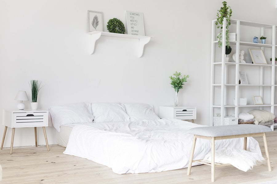 functional small bedroom