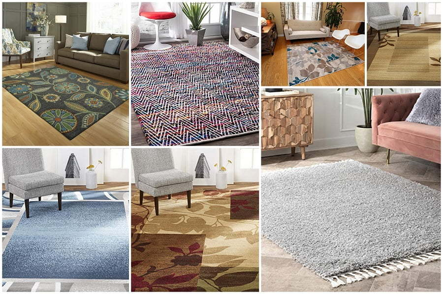 area rugs under 10