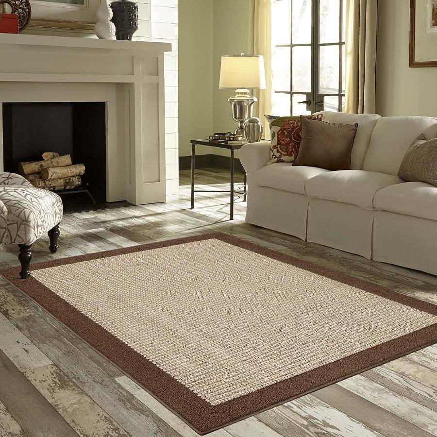 faux sisal area rug