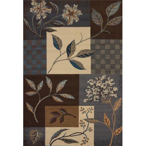 woven floral area rug
