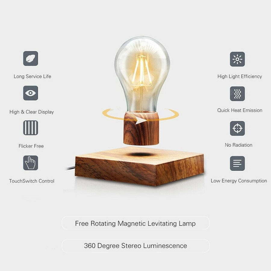smart floating light bulb