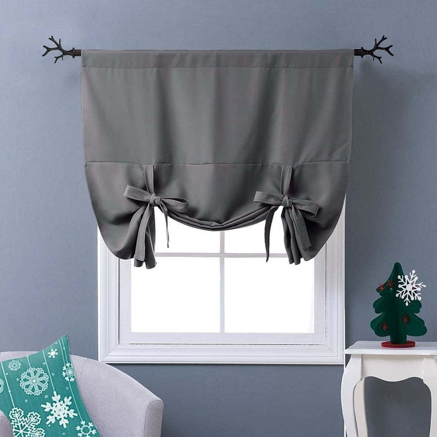 tie-up curtains
